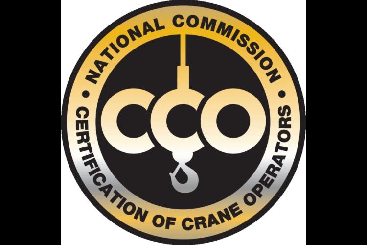 National Commission Certification of Crane Operators Badge