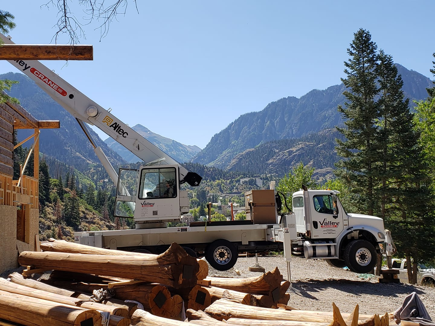 Valley Crane Service Company working in Ouray CO