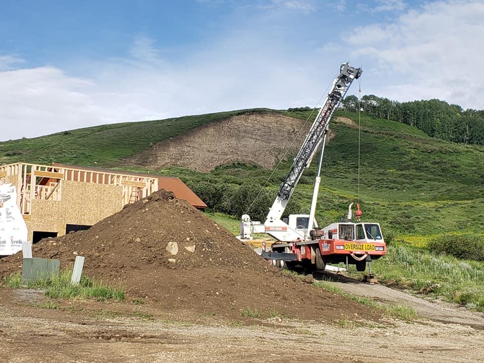 Valley Crane Service Truss Set