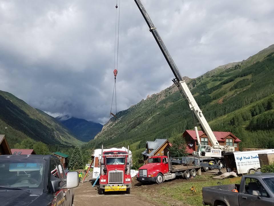 Mobile Crane Services in Colorado