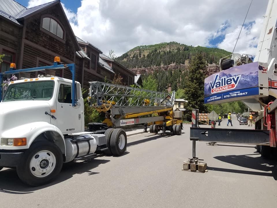 Valley Crane in Telluride CO